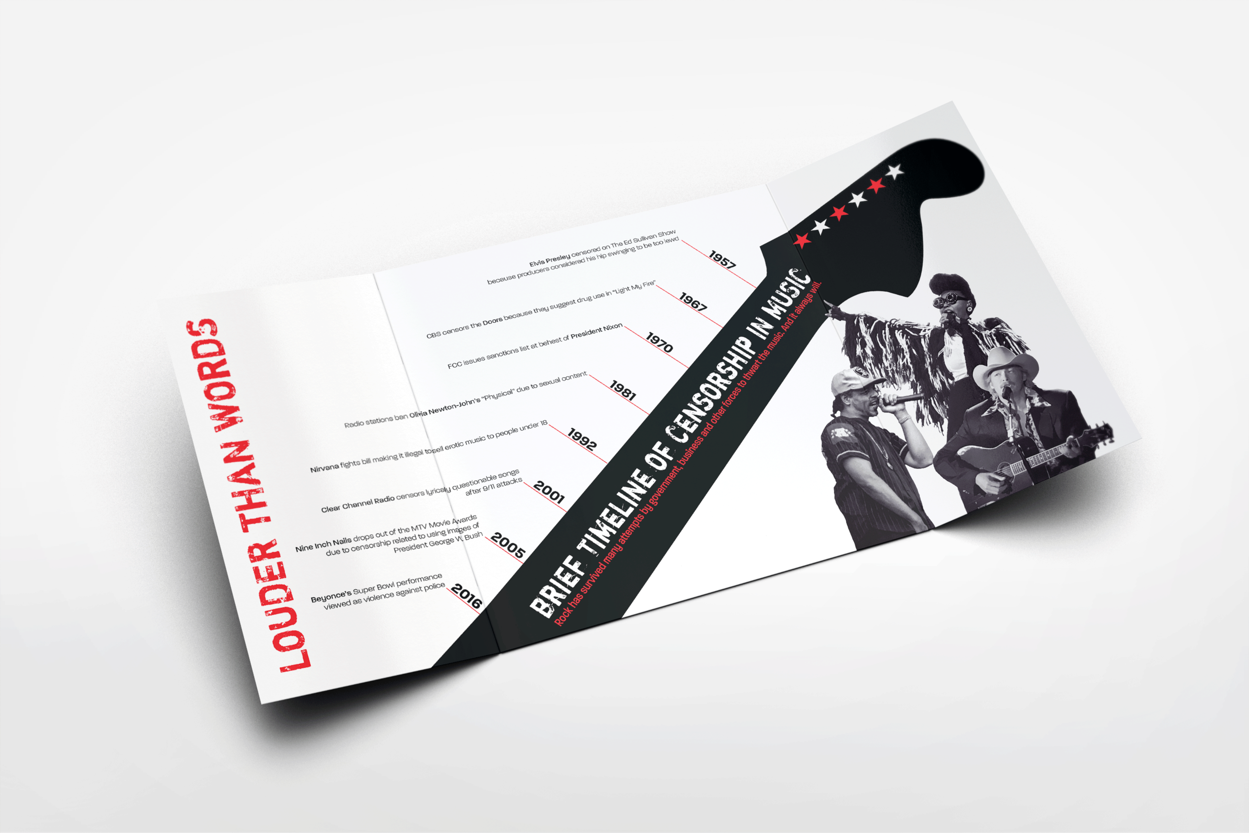 THE NEWSEUM PROJECT - Brochure and Magazine with Logo Design