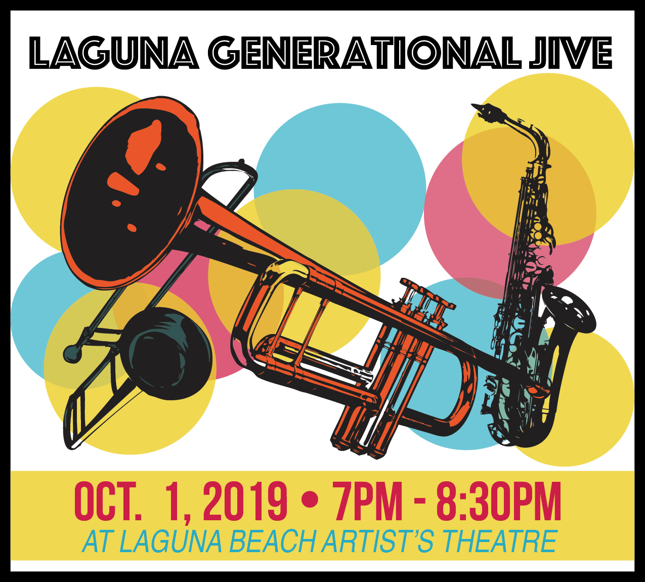 An evening of song and story… - …featuring LBHS alumni stars with select performances by the LBHS Jazz Band.Hosted by Steve and Beth Fitchet Wood of HONKTuesday, October 1, 2019, 7:00-8:30 pmLaguna Beach Artist's Theatre, 625 Park AvenueBenefiting Laguna Beach Live!'s free Music & Kids programsGeneral Admission: adults: $20 presale and $25 at the door; students 18 and under $10VIP: $100 with reserved premiere seating, Meet and Greet, and our profound thanks!