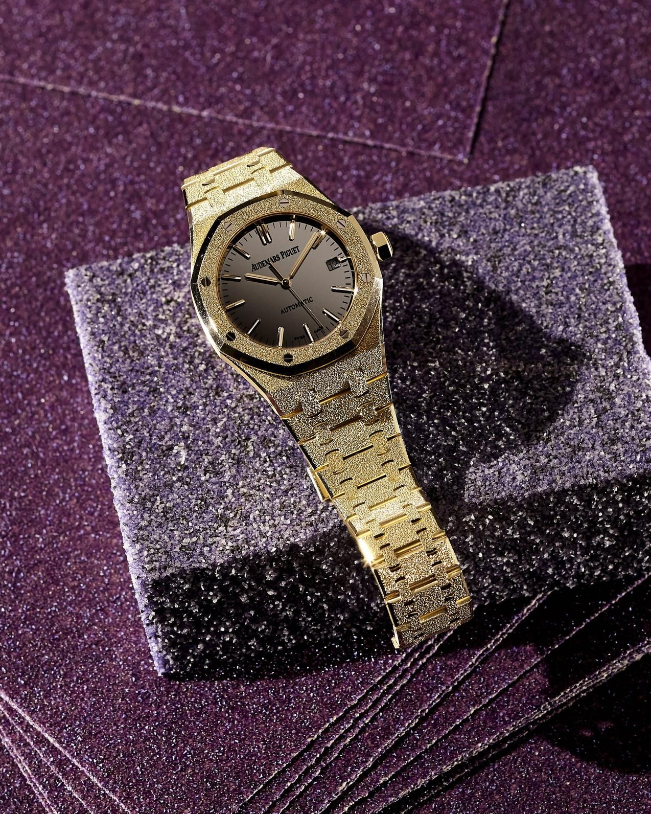 ROUGH MAGIC Audemars Piguet & Carolina Bucci Watch, $53,600, 212-688-6644 PHOTO: F. MARTIN RAMIN/ THE WALL STREET JOURNAL, STYLING BY ANITA SALERNO