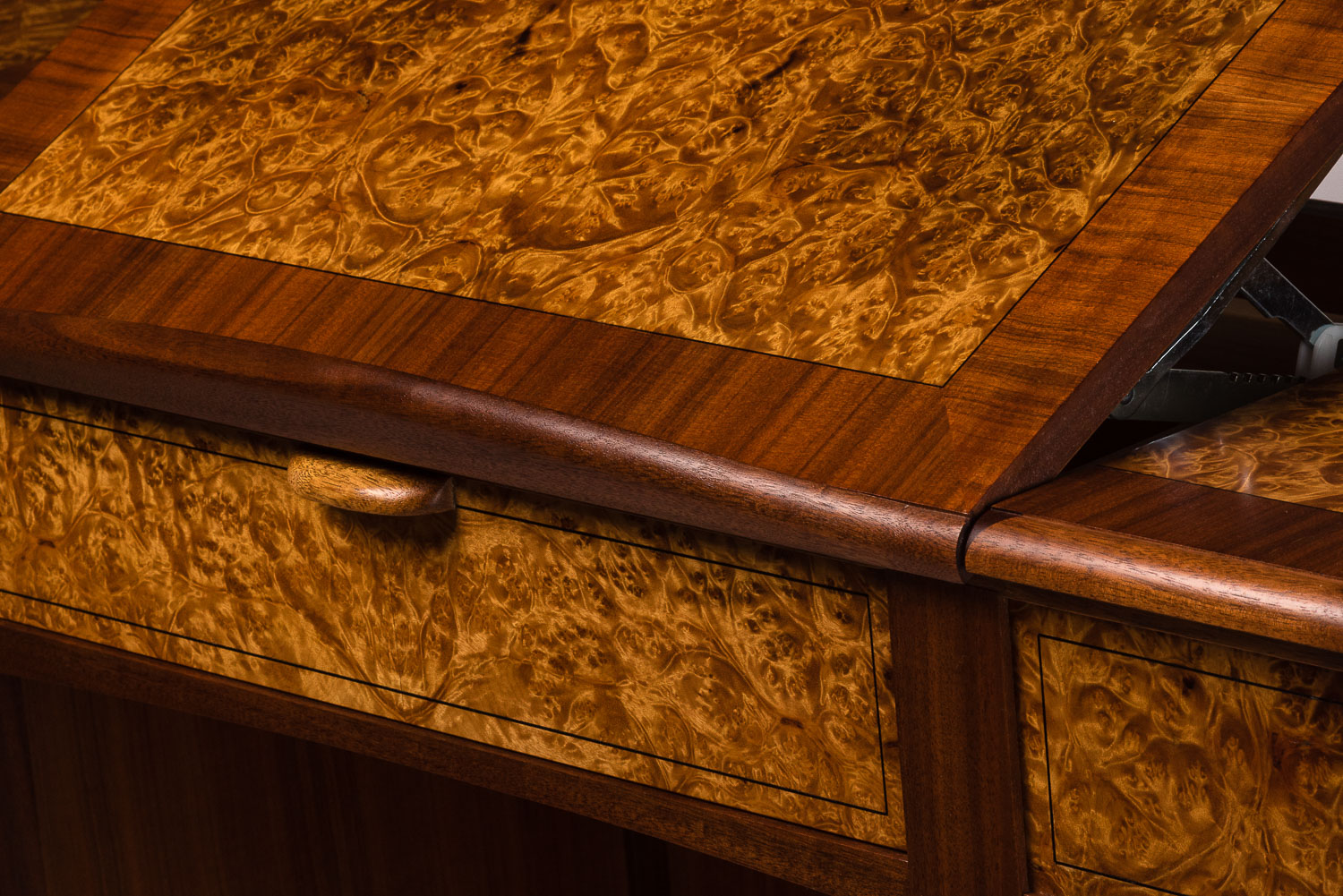 Gio Standing Desk Detail.  Photo by Teresa Arthur Photography