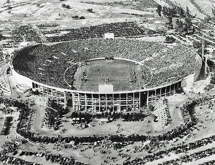 1928, Rose Bowl extended seating