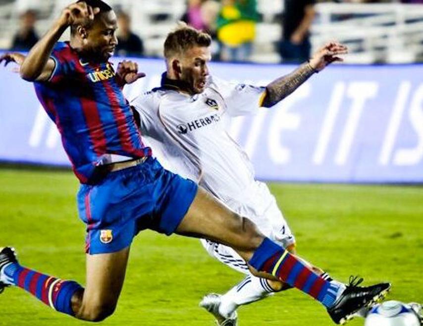 2009, Galaxy vs Barcelona