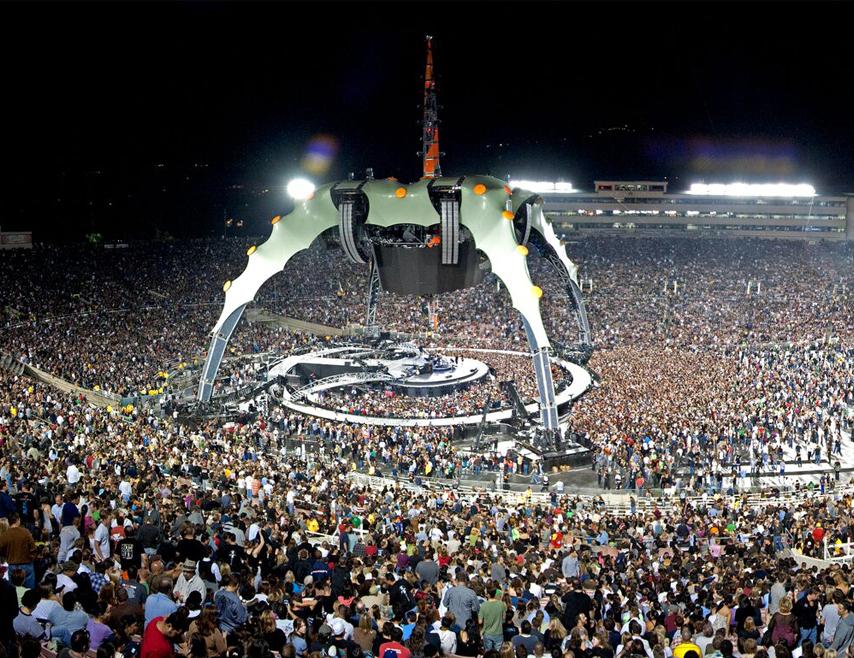 2009, U2 concert