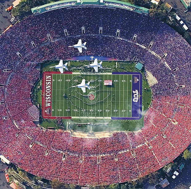 2011 Rose Bowl Game - Wisconsin vs TCU