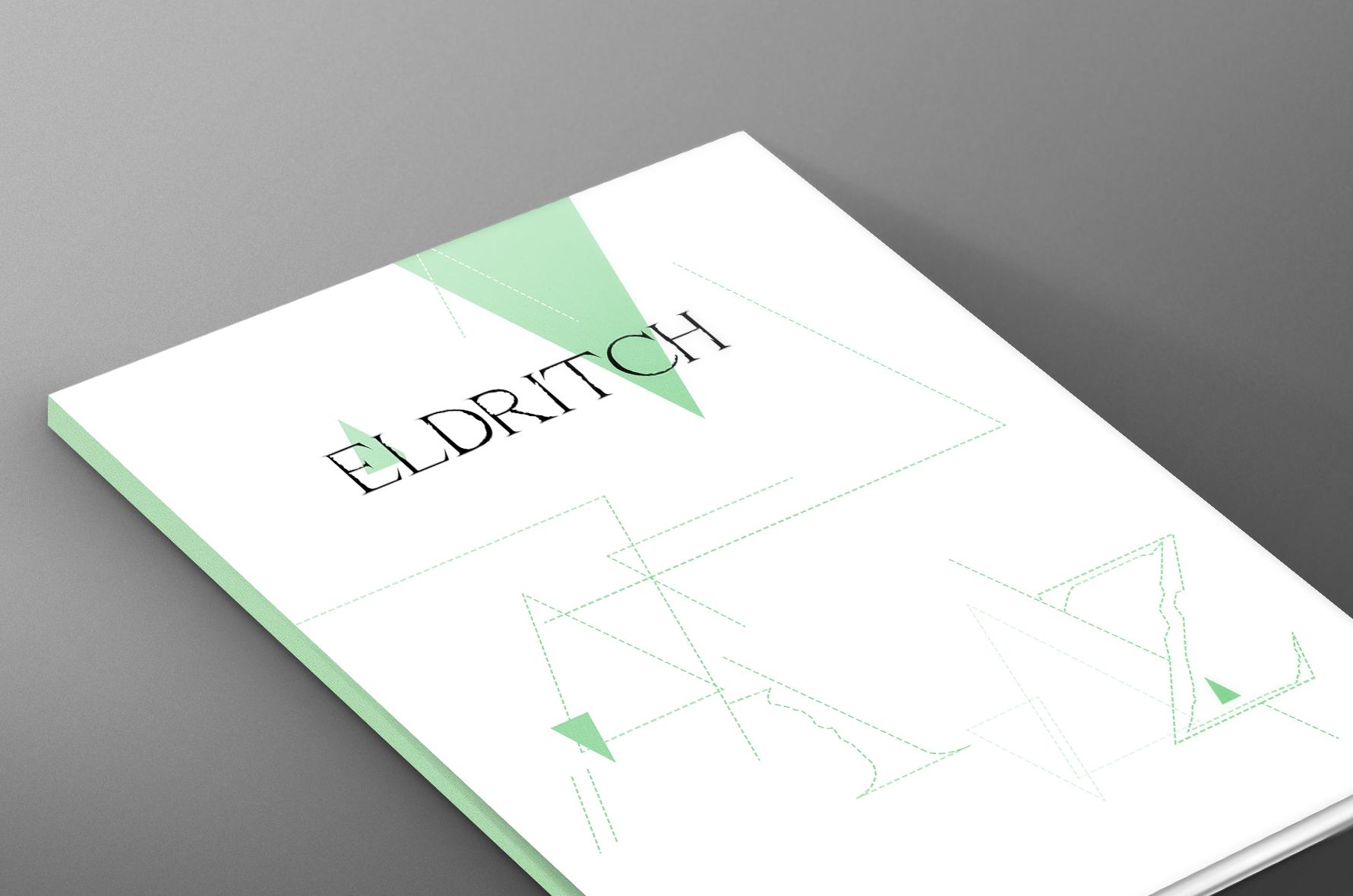 ELDRITCH  // Print Design, Typography, Poster, Layout