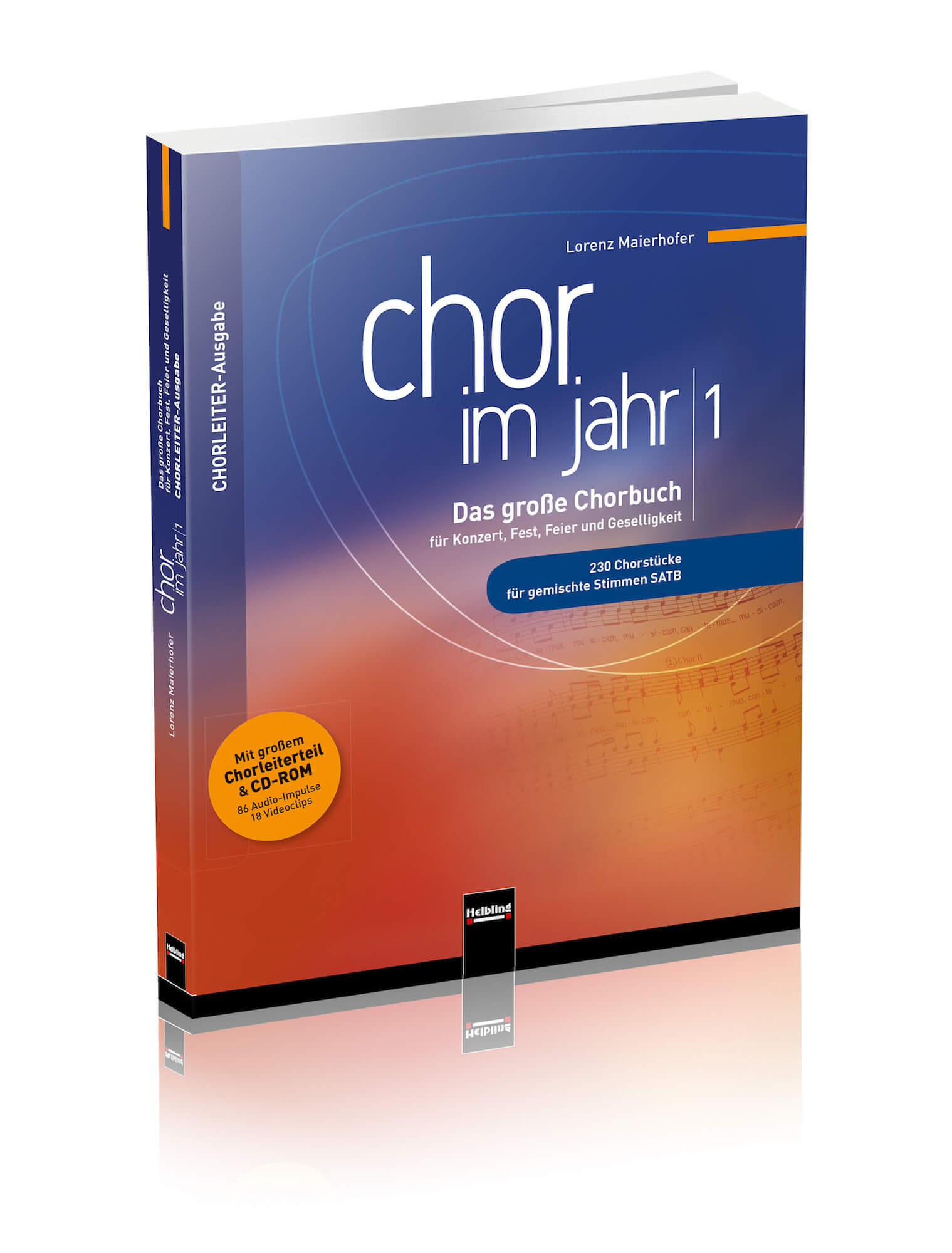 "CHOR IM JAHR – ""best of"" selection of choral pieces"