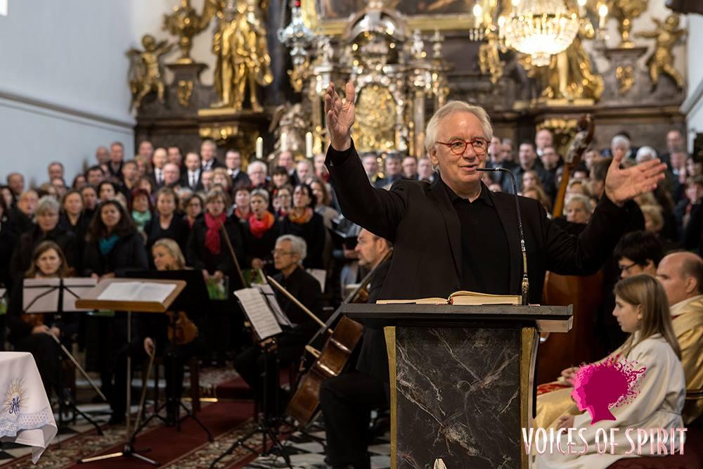 """Friedensmesse in G beim Festival """"voices of spirit, Graz"""