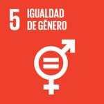 ODS 5: Igualdad de Género - Asegurar la participación plena y efectiva de las mujeres y la igualdad de oportunidades de liderazgo a todos los niveles decisivos en la vida política, económica y pública.Mejorar el uso de la tecnología instrumental, en particular la tecnología de la información y las comunicaciones, para promover el empoderamiento de las mujeres.