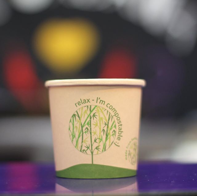 We've just taken another huge step in our campaign to cut back on waste and become the first plastic free market in the country 👊  The team at @lacabanasligo are now serving all their food in compostable containers and using vegware for cutlery. They have also introduced CanO Water and removed single use plastic bottles from their stall.  This goes hand in hand with our new ceramic cups at @driftwoodcoffeecart , our new pizza paddles at Bella Vista, our new bins to help segregate waste and the introduction of the @the.naturalcompany.  Well done to all our stall holders involved. More news on this campaign soon!  #SPMGoesGreen #NoMoreplastic