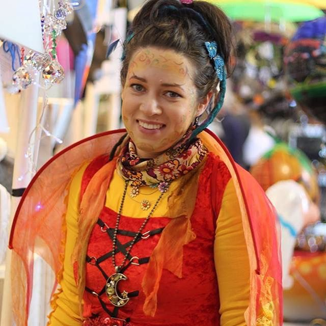Maria from @daisylanedsign is taking a break from trading at SPM for the foreseeable in order to prioritise her health & wellbeing. We would like to take this opportunity to thank her for trading in Hangar 1 over the last two years & hope that she will return when the time is right for her.  This is Maria winning best costume at our Halloween market in 2017 - she has been an injection of colour since day 1 and we will miss her prisms underneath our umbrellas.