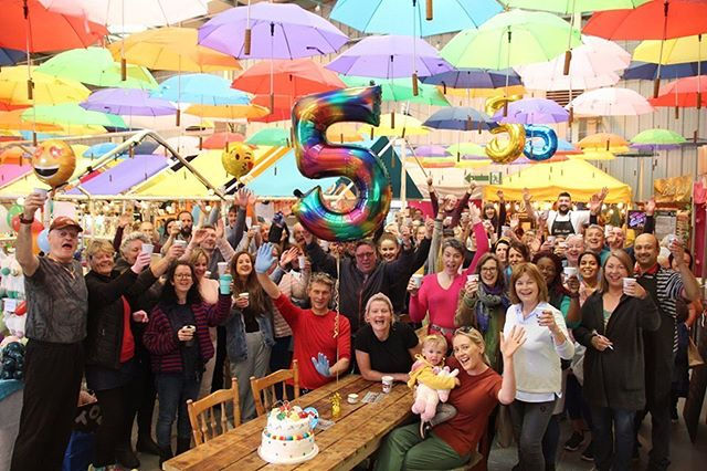Make sure to come and help us celebrate our 5th birthday today 🌈🎈 Half a decade old! 😬🤪😉