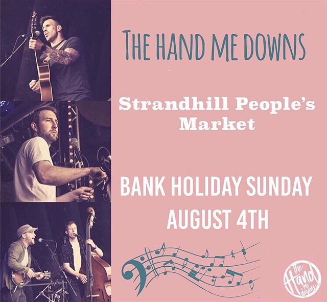 Hangar 1️⃣ is in full swing!  We've over 40 stalls of craft, food & art on offer and one of the best live bands around to entertain you.  @the_handmedowns kick off at 1pm!  Make sure SPM is part of your plan today!