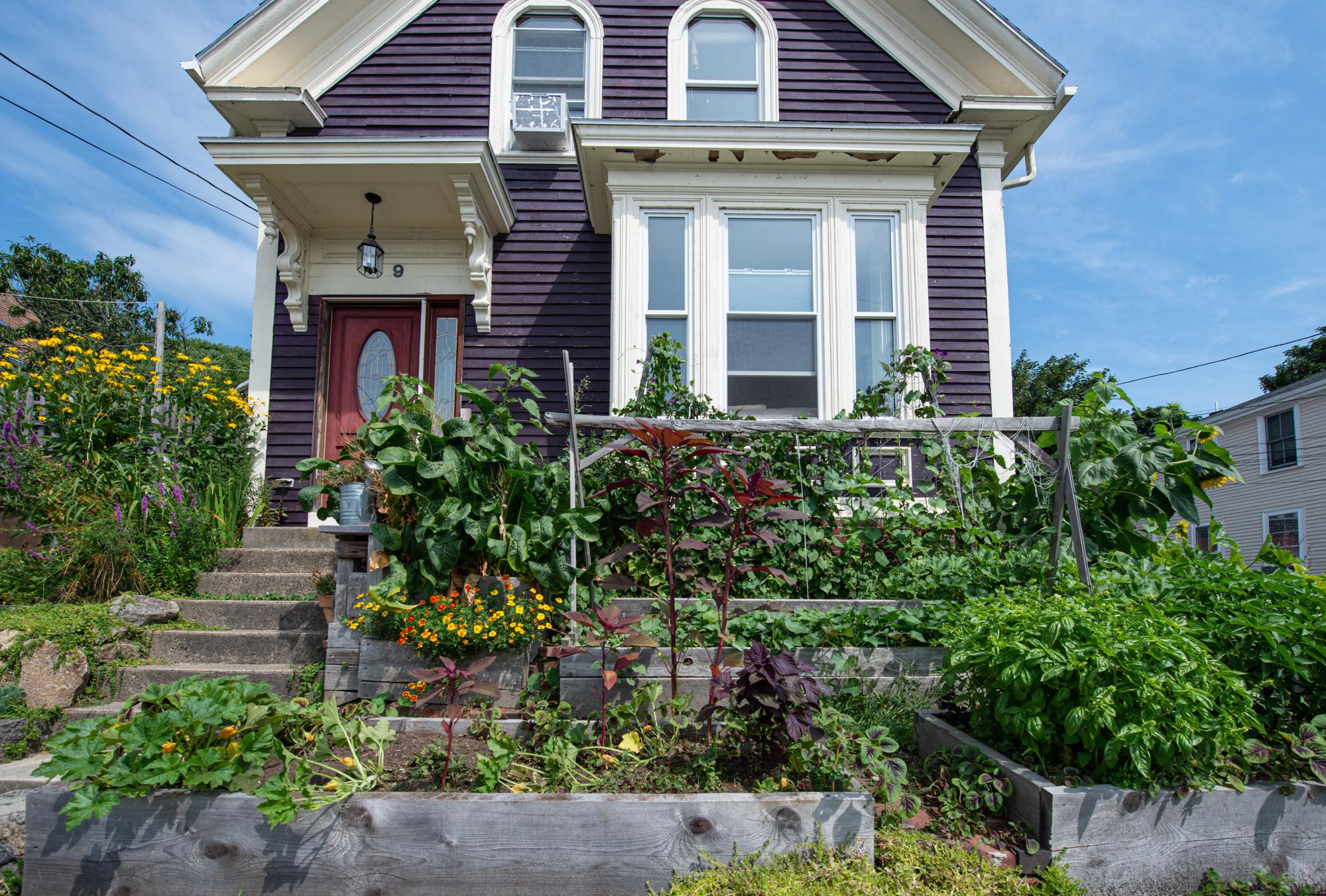 The Home and Garden of Back Yard Growers Founders, Lara Lepionka and Stevens Brosnihan (Photo: David Newsom)