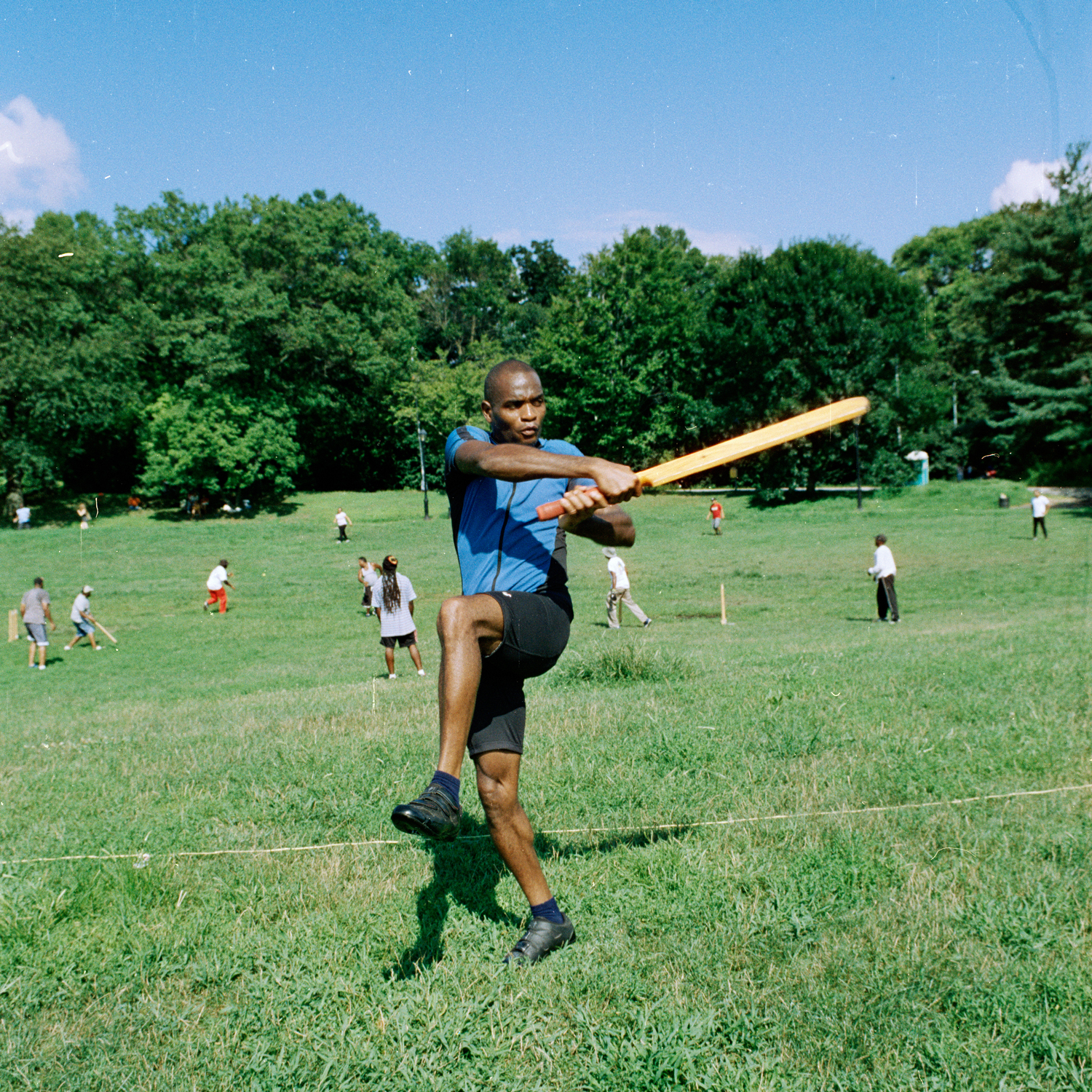 Cricket Player, Prospect Park