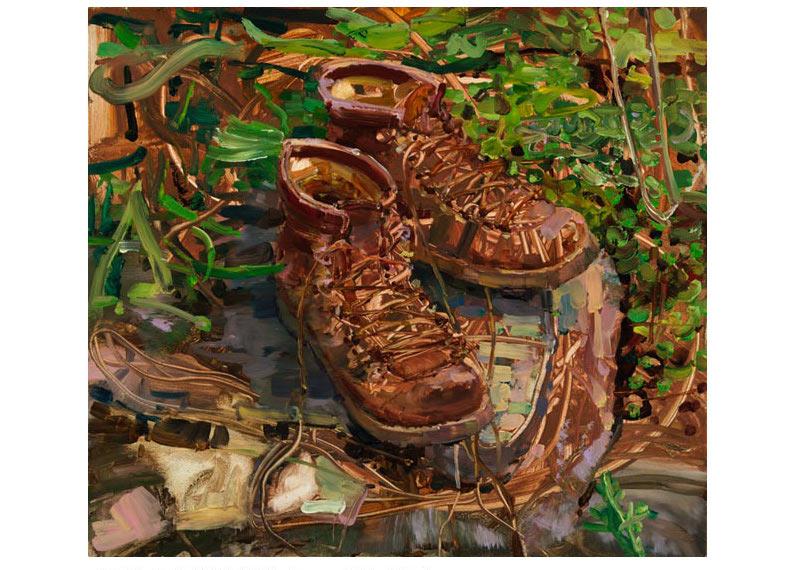 My Hiking Boots Still Life