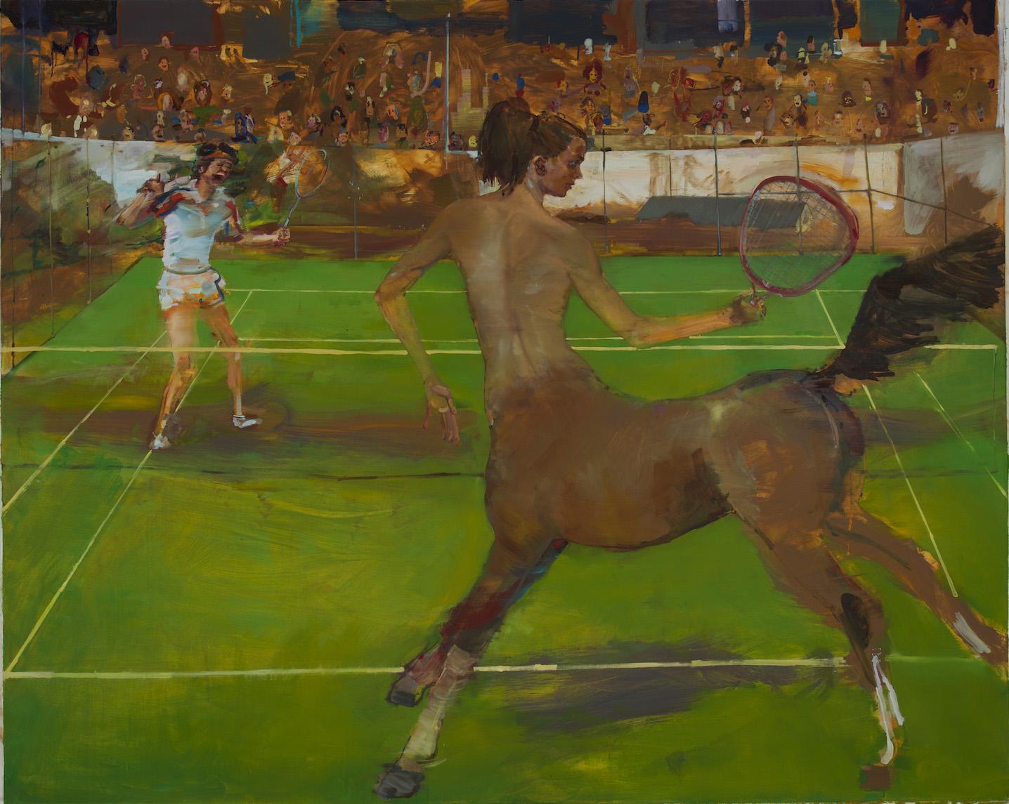 Bethany Fancer Winning at Tennis