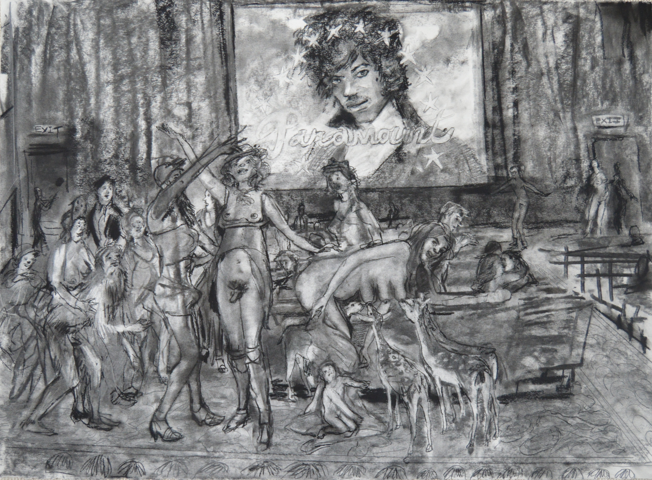 ast Picture Show  charcoal 28 by 40 inches 2015.jpg