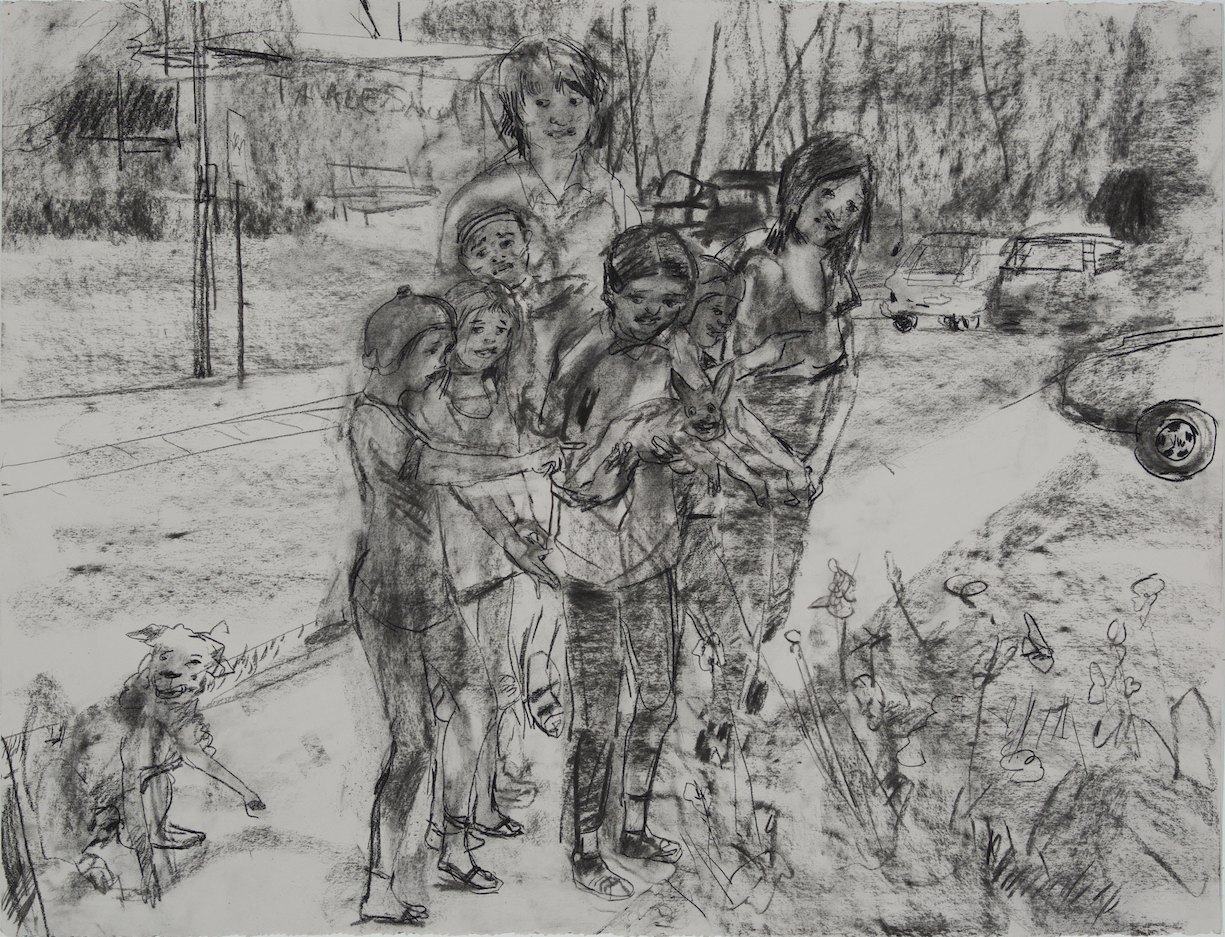 Classin Session charcoal 28 by 40 inches 2015.jpg