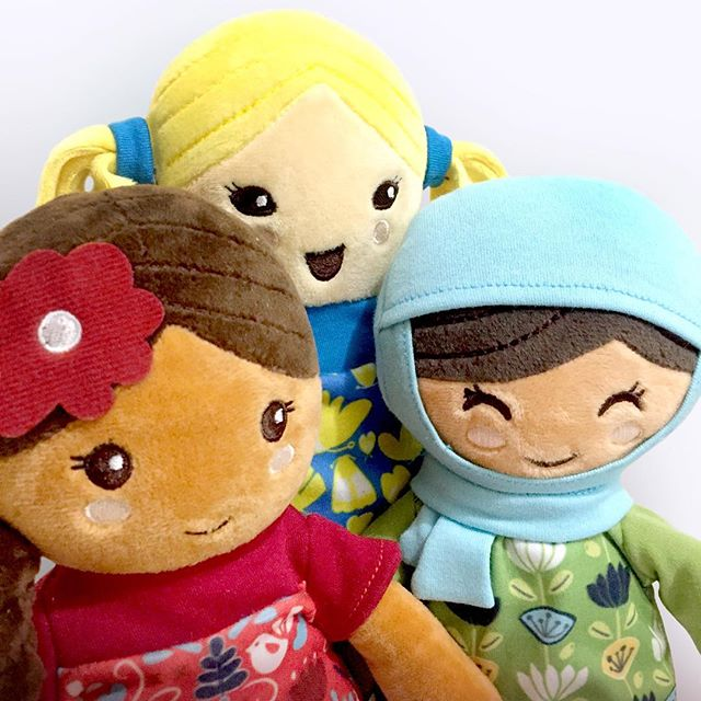 Our dolls are not only beautiful, they are also incredibly soft and snuggly!  Our favorite feedback from customers is how much their little ones love to take them everywhere. Get yours today!!