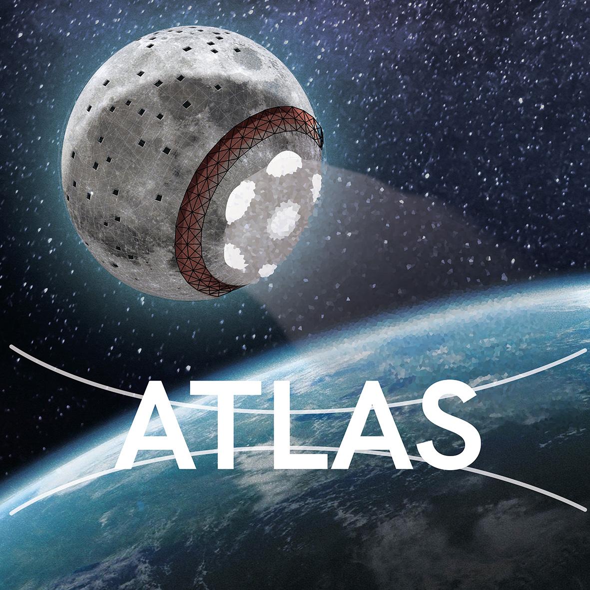 ATLAS - ÉCOSYSTÈME : La LuneMEMBRES DE L'ÉQUIPE : Louis-Éric Daignault, Félix Krauth, Christophe Leick, François Bergeron