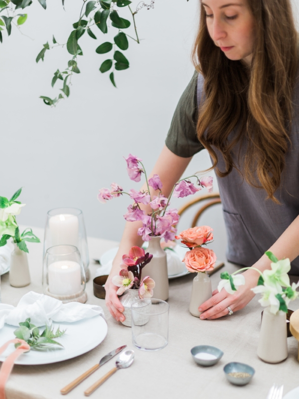 Tips for hosting your next brunch and decorating the table with Foraged Home
