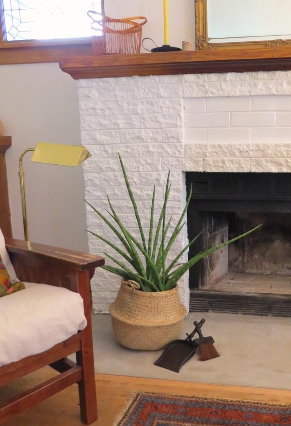 Boho style living room decor from Foragedhome.com