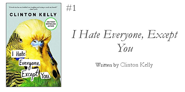5 Books to Read this Winter from Foraged Home: I hate everyone, except you