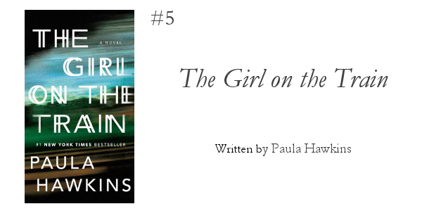 5 Books to Read this Winter from Foraged Home: The Girl on the Train