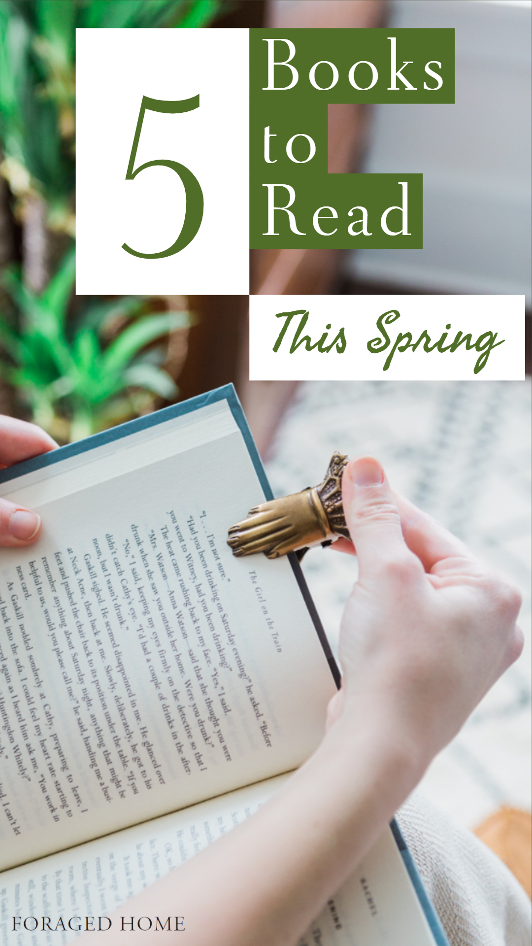 Spring reading list, 5 best books to read right now