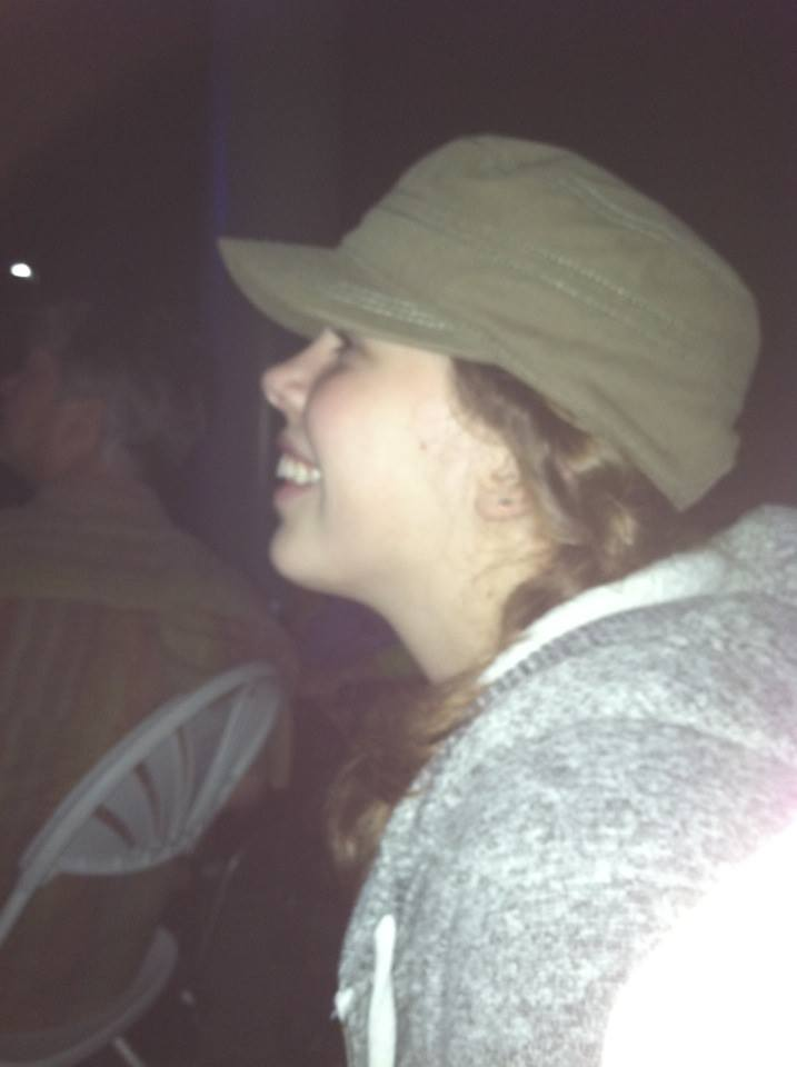 My mom snapped this photo while I was watching Willie.