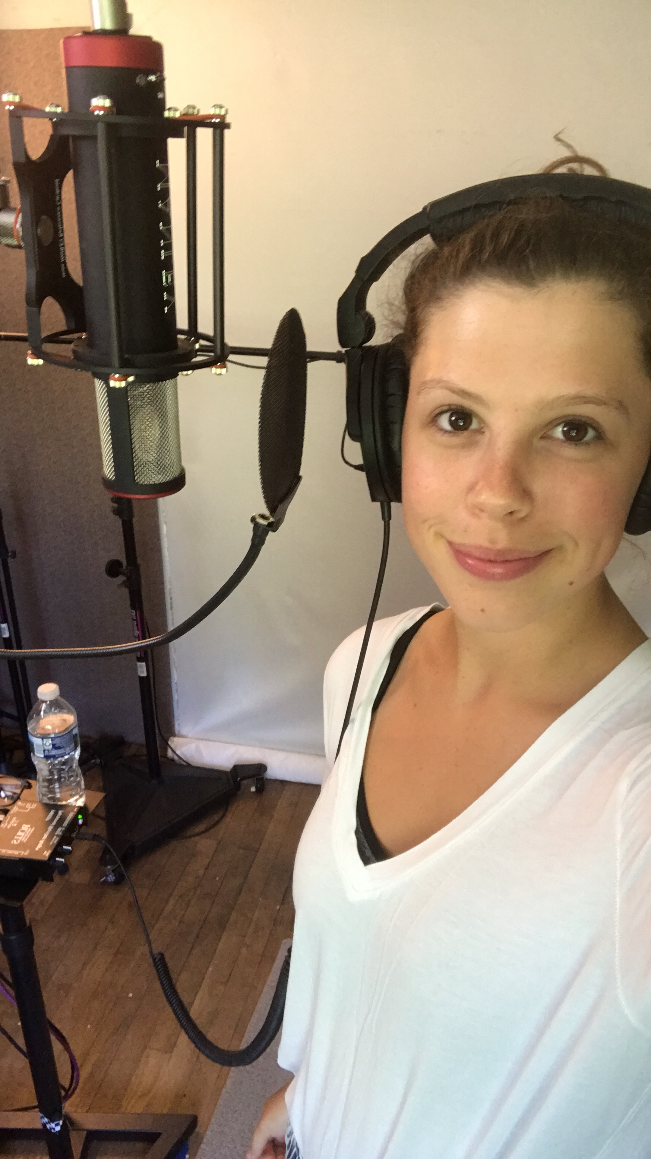 Demoing at Kim's Studio!