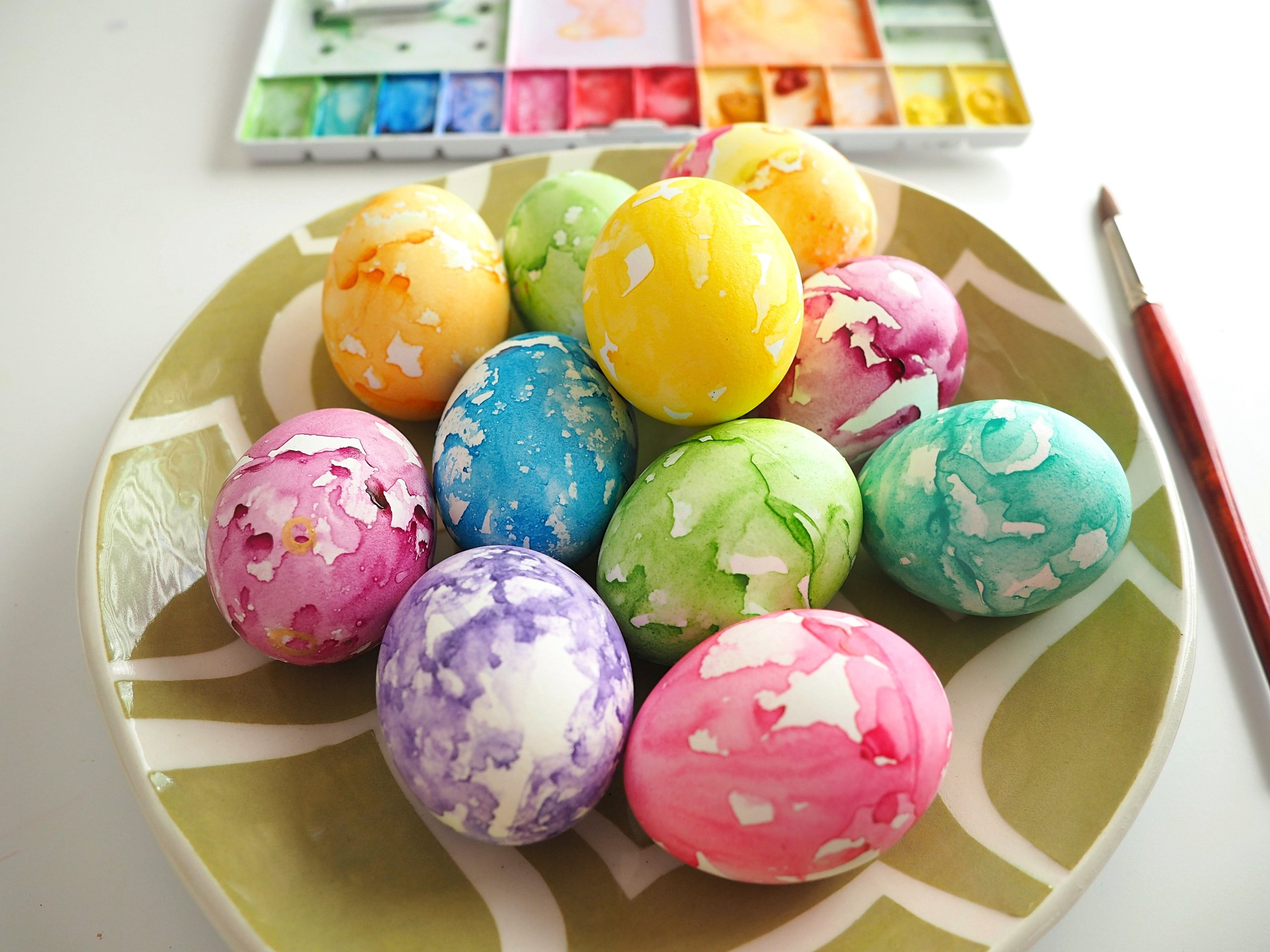 Easter eggs how to dye fun activities with kids