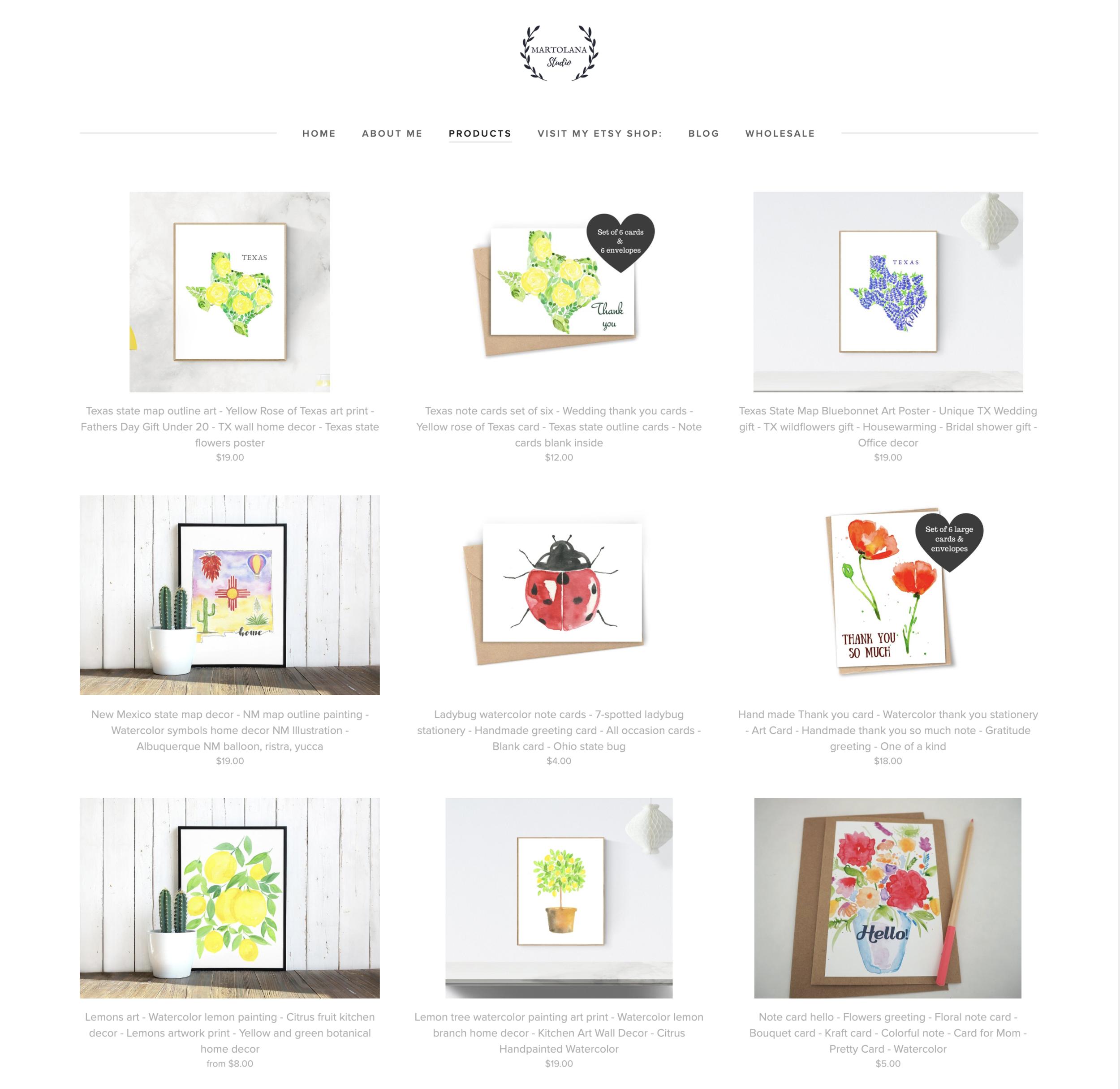 art prints shop