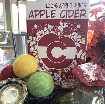 Our organic Honeycrisp Apple cider is delicious! Shelf-stable for one year, it's a perfect treat or gift