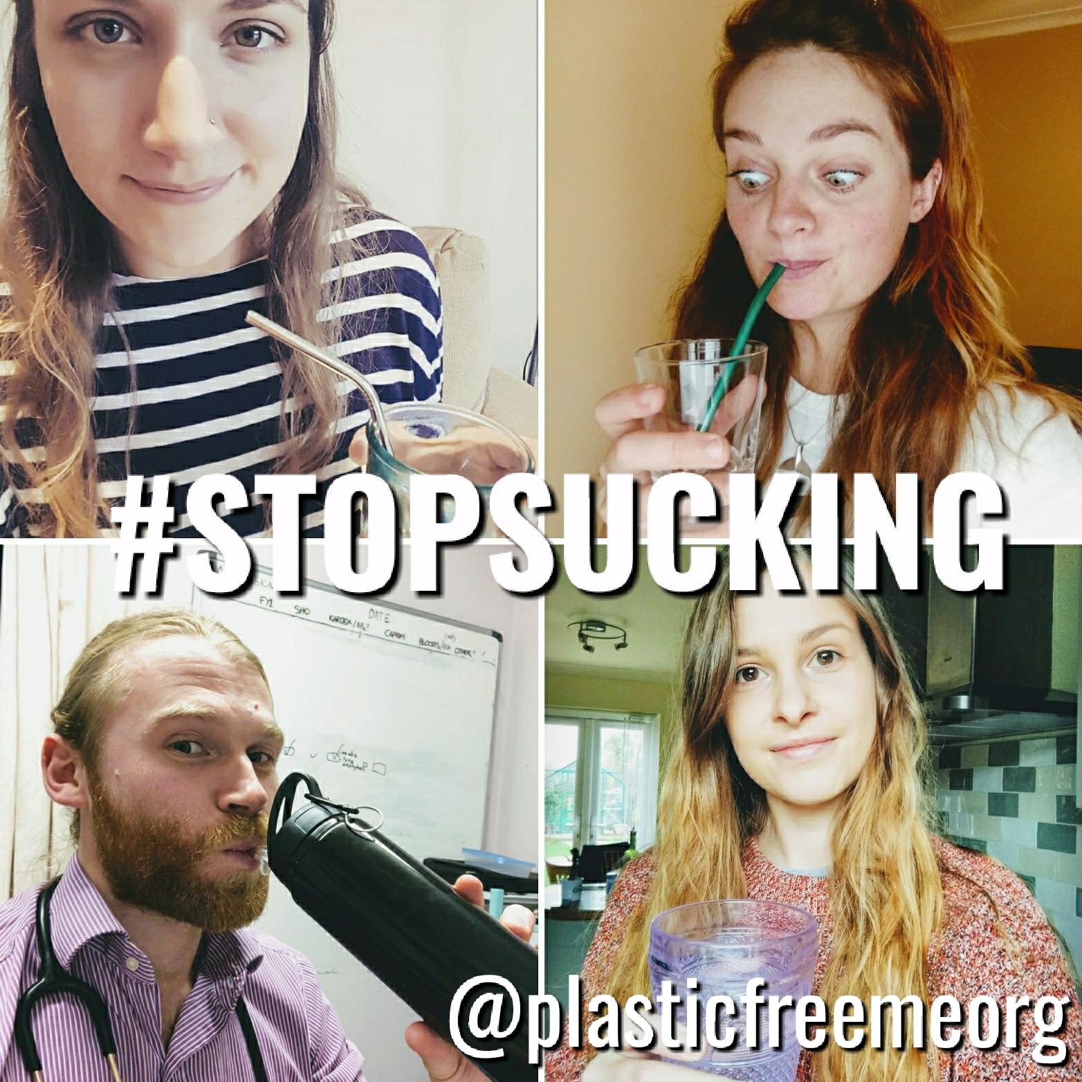 #STOPSUCKING photo campaign