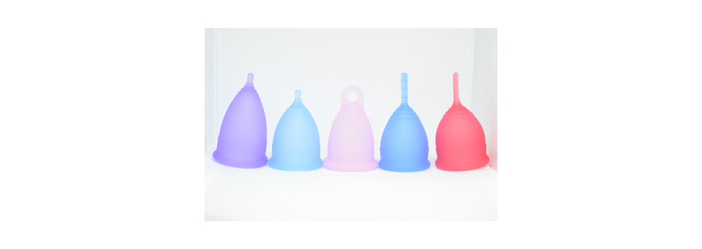 Menstrual cups come in all different shapes and sizes so that you can find the one that best suits you (image:  jlbolen )