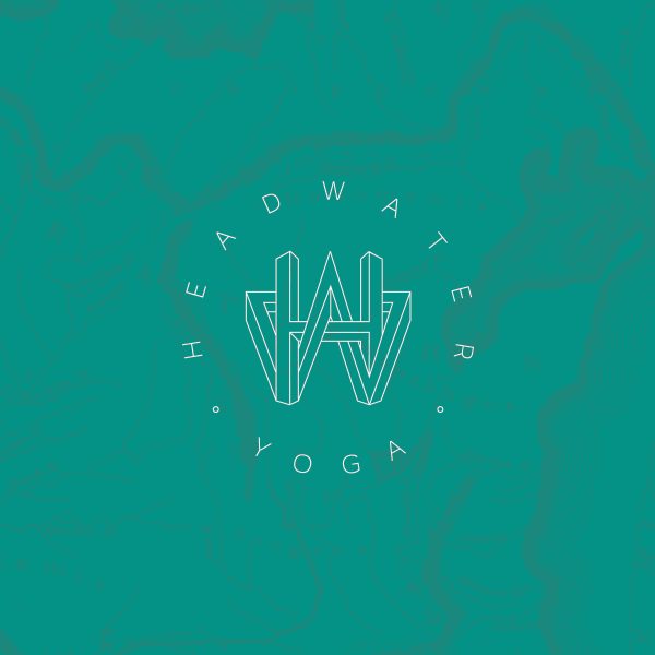 Headwater Yoga - We are a community of first classes, hundredth classes, and certified teachers. We're Baptiste-inspired, but always open to new experiences. We love to practice in soft grass, in silent woods, or anywhere that we're together.Agency: Draft Design HouseClient: Headwater YogaArt Director: Kaitlyn Bryan