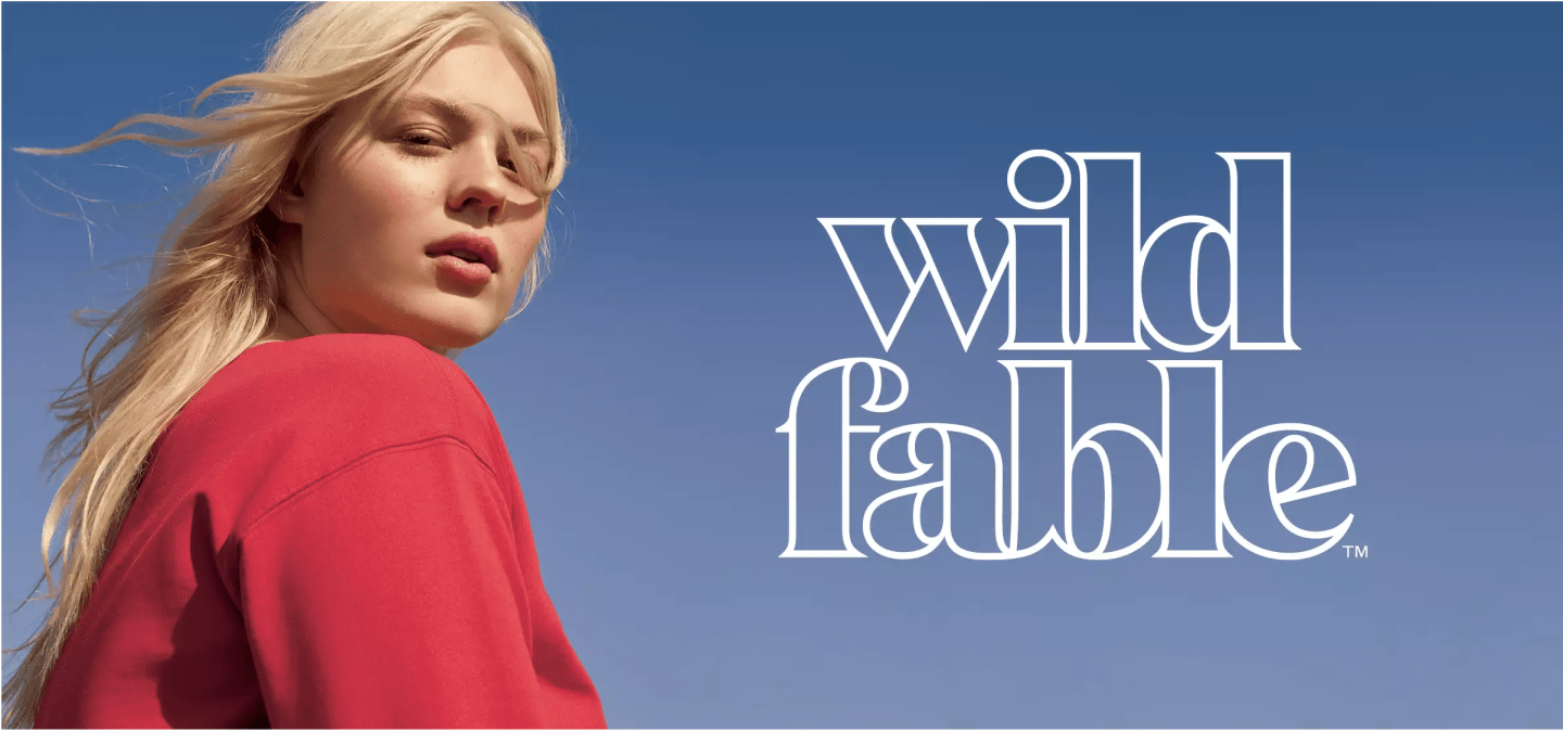Wild Fable - Contributed as a member of Target's Brand Design Lab.