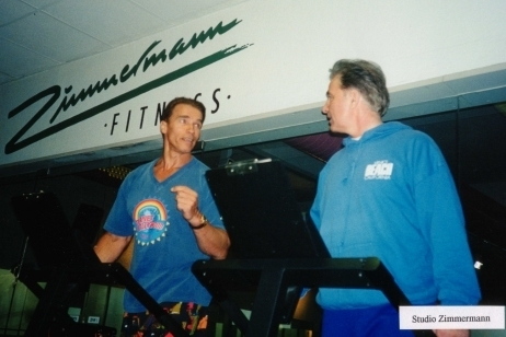 Bernd and Arnold Training together
