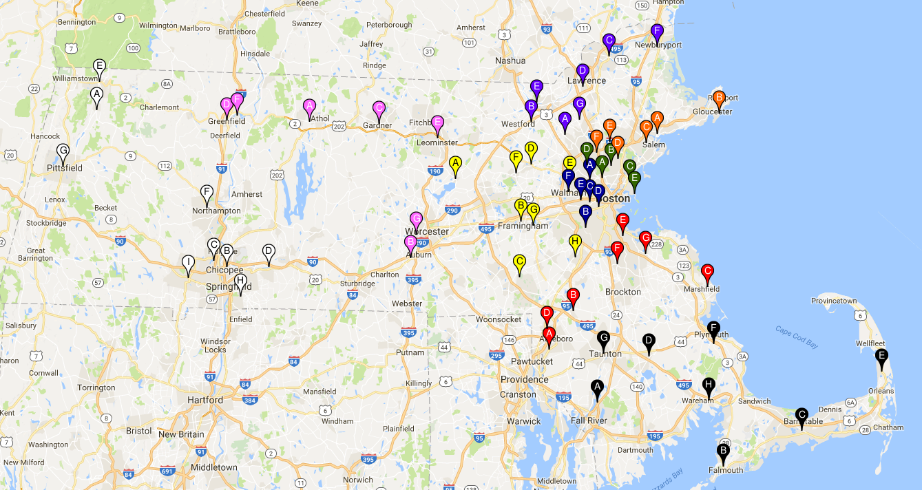 Click map to find a Lodge nearest you! -
