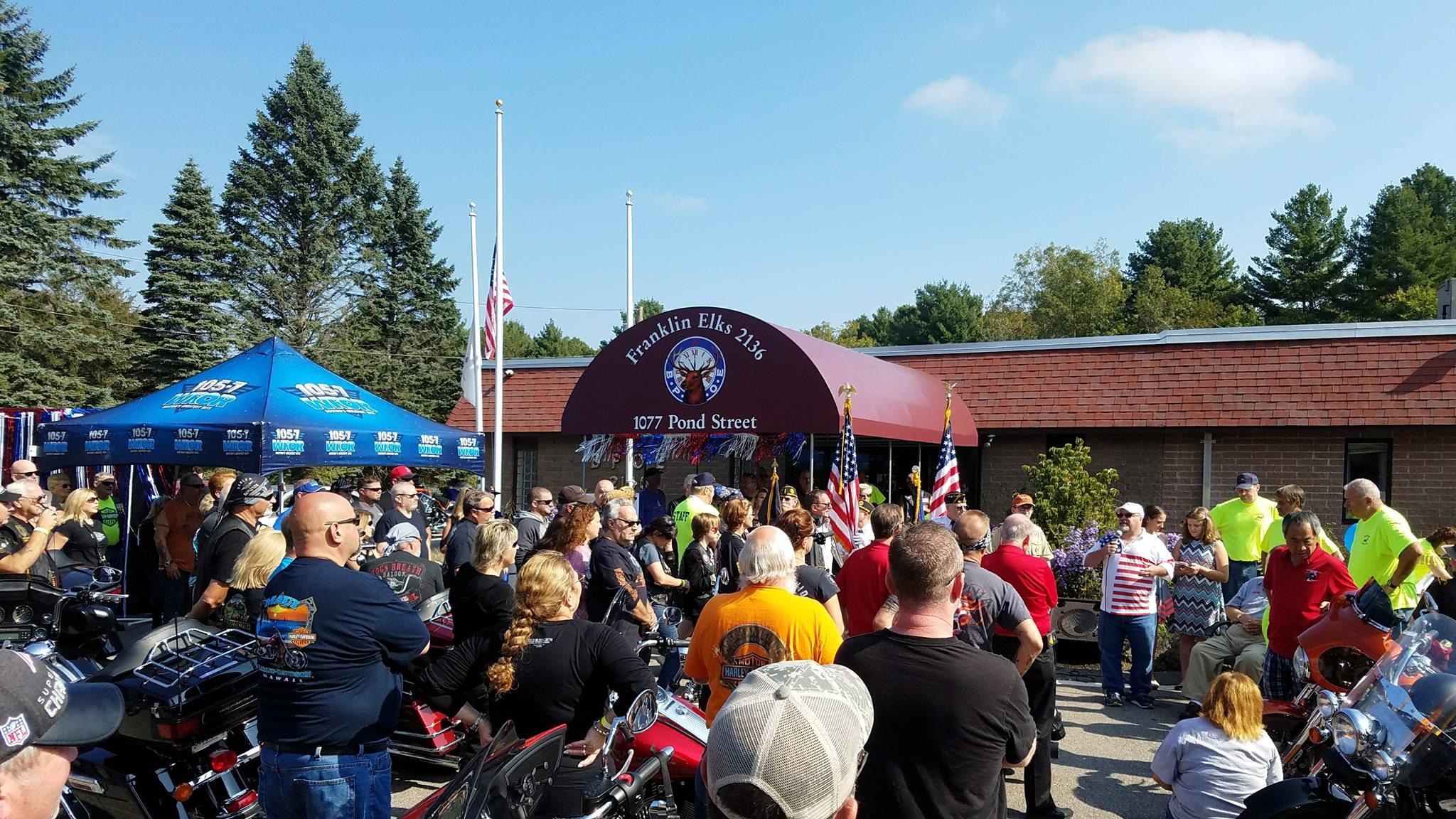 2017 Bike Run held @ Franklin Elks Lodge 10/07