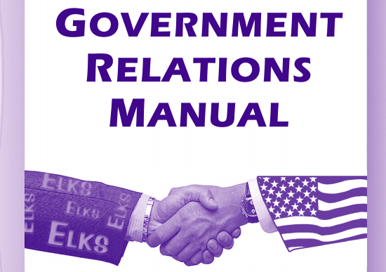 Click here to Open Manual - A comprehensive guide to Government Relations