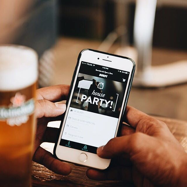 BURP! is the first alcohol delivery service in Mexico