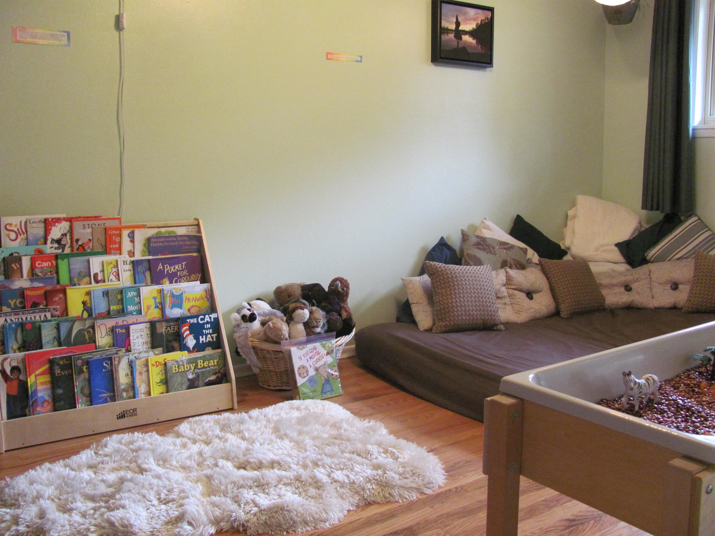 Relaxation Room at Kidtopia Preschool