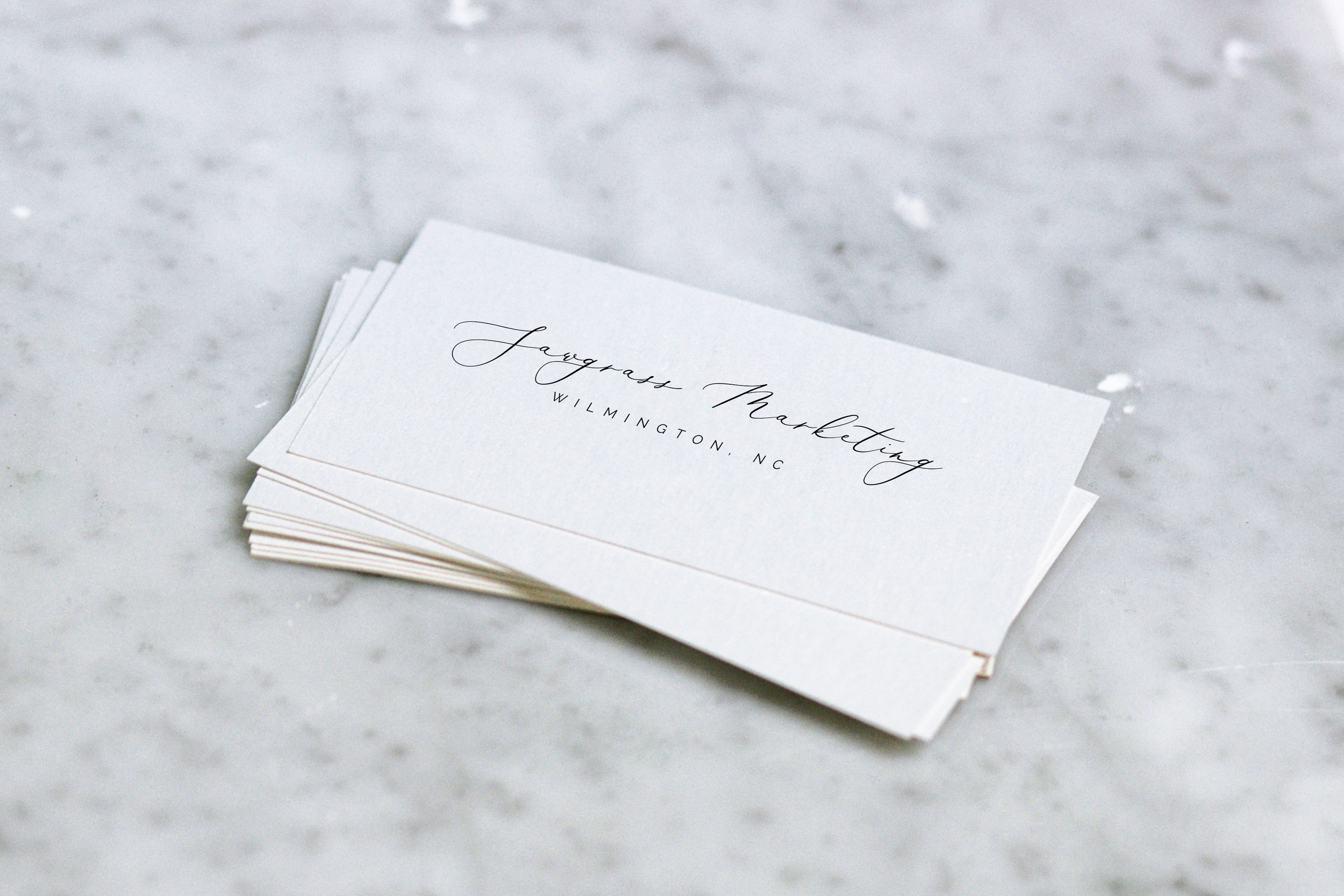 Brand Development - Your brand should tell your company's story and evoke an emotional connection with your consumers. Take pride in handing out your business card.