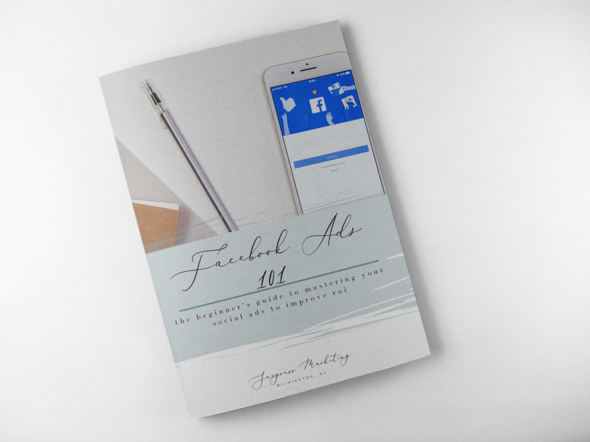 Facebook Advertising 101 Booklet Cover