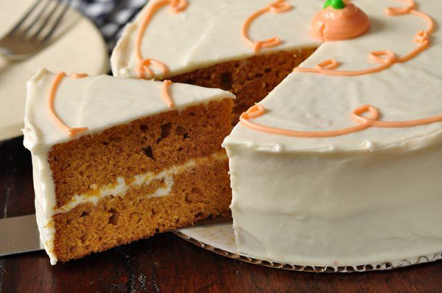 pumpkin spice cake made healthy mydietgoal