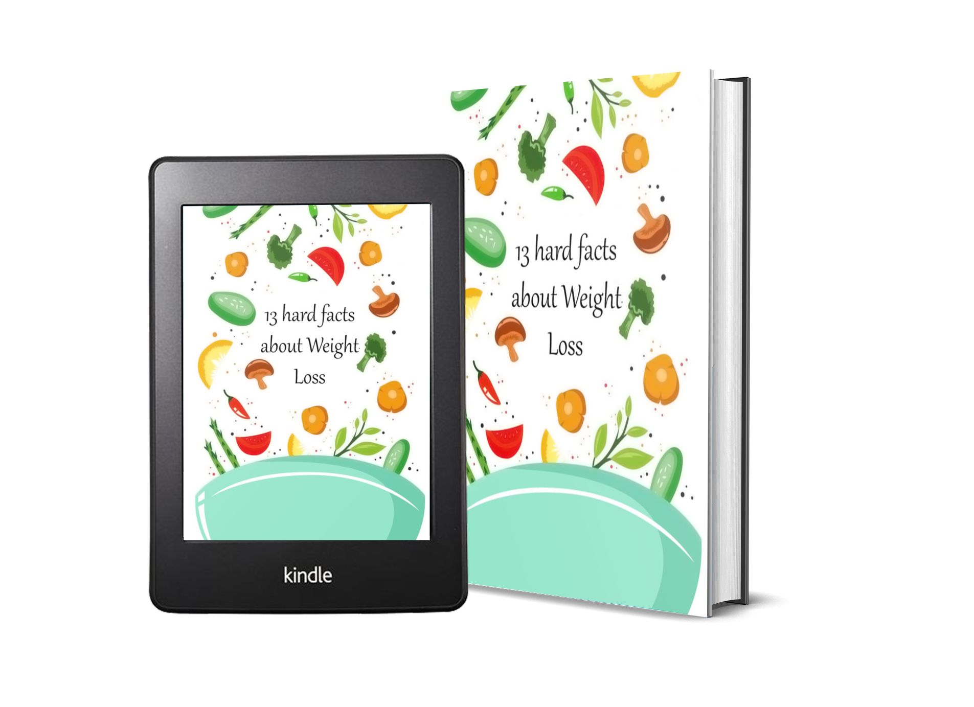 13 hard facts about weight loss diet ebook cover