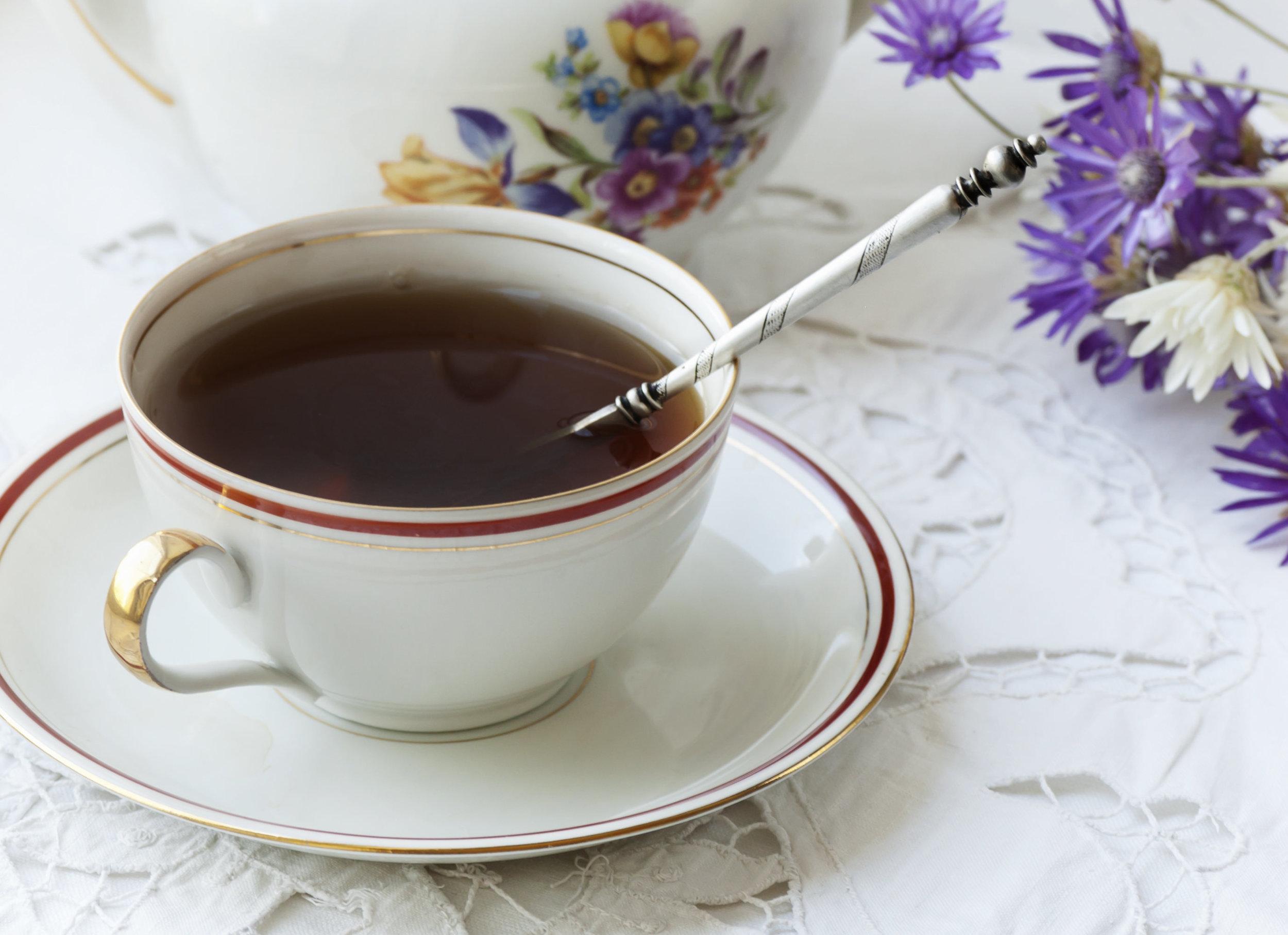 floral earl grey tea
