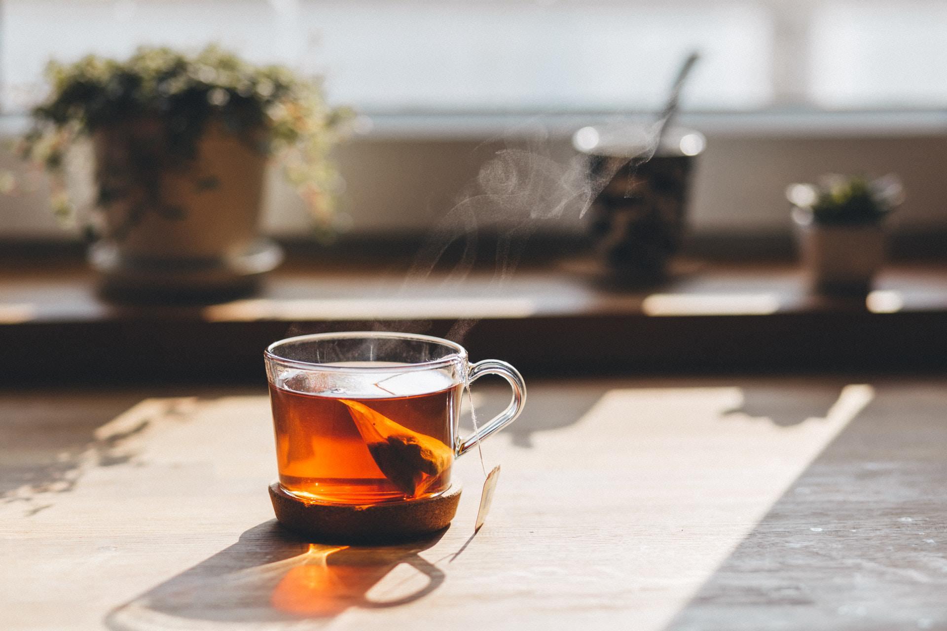 cup of earl grey tea